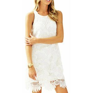 Lilly Pulitzer Dress Marlissa Floral Scallop Lace